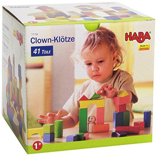 HABA 1114 Clown-Klötze, groß