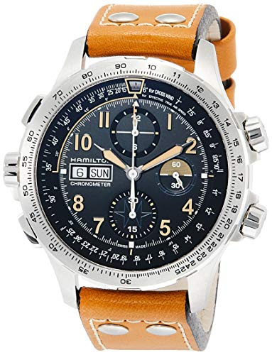 - Hamilton Men's Khaki X-Wind Day Date Auto Chrono Limited Edition Watch - Model: H77796535