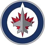 """Winnipeg Jets NHL Hockey Car Bumper Sticker Decal 5"""" x 5"""""""
