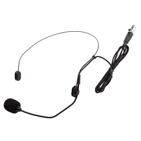 Dolity Nuevo Clip de Solapa En Micrófono con Cable para Amplificador ...