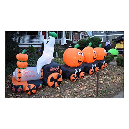 Halloween Airblown Inflatable BooExpress Ghost Pumpkin Train by Things for Everyone -