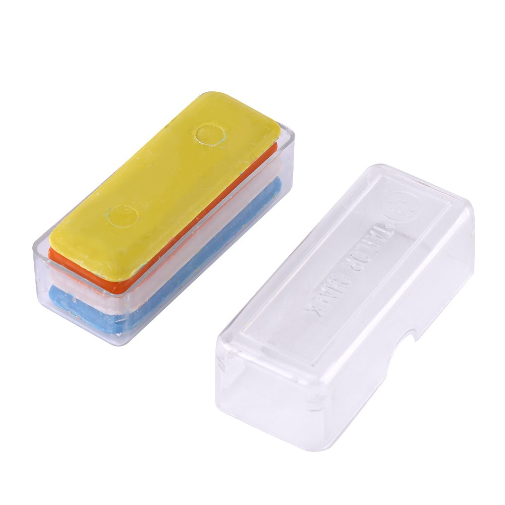 4 Pcs/pack Colorful Tailor Chalk DIY Making Sewing Dressmaker Chalk Garment Accessories Tools Zerone
