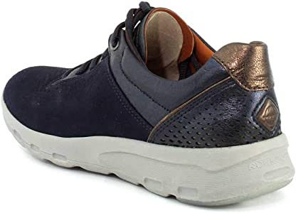 Ubal Comfort Shoe Blue Nubuck