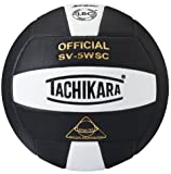 volleyball outdoor - Tachikara NFHS Sensi-Tec Micro-Fiber Composite Leather Indoor Volleyball (SV5-WSC)