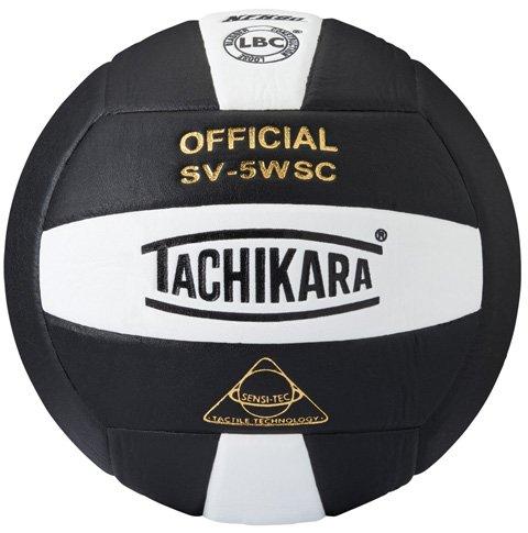 - Tachikara NFHS Sensi-Tec Micro-Fiber Composite Leather Indoor Volleyball (SV5-WSC)