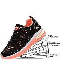 JACKSHIBO Women Lightweight Air Cushion Comfort Running Shoes
