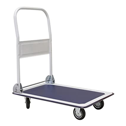Plataforma carro carrito de transporte con ruedas (Camión Max. 300 kg Carrito transporte Utensilios