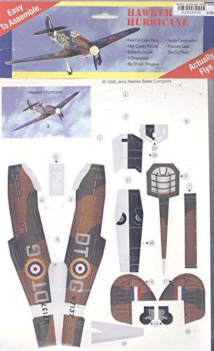 Hawker Hurricane Paper Model Kit
