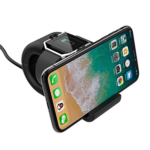Fitbit Blaze Charger, YFFSUN Charger Clip Cradle Dock Micro USB Charging Station for Fitbit Blaze Smart Fitness Watch (black) by YFFSUN (Image #7)