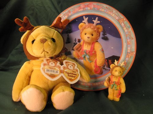 Cherished Teddies.......... A Gift To Go With Holiday Gift Tin from Pricilla and Glenn Hillman's Cherished Teddies Collection