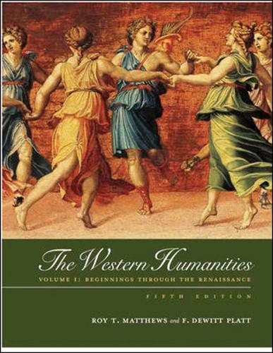Western Humanities, Volume 1