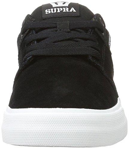Uomo Nero 002 black schwarz White Stacks Da Supra Vulc Sneakers Ii vwXqYZOH
