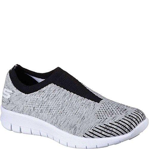Skechers Women's Bright Idea - Easy Going, Walking, Gray, M Grey