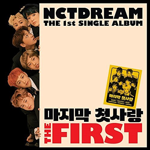 NCT DREAM - The First (1st Single Album) CD+Photobook+Extra Photocard Set