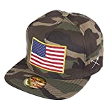 Homegrown Outfitters BURN in the USA Snapback hats - Big & Tall size fits up to size 9 (Camo )