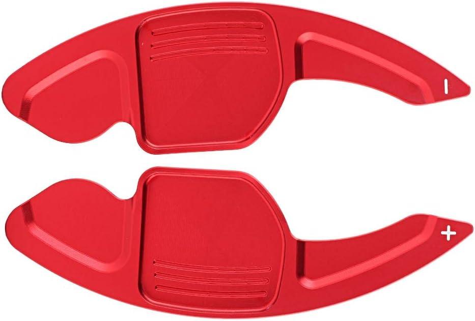 Steering Wheel Shift Paddles 2pcs Aluminum Alloy Car Steering Wheel Shift Paddle Blade Shifter for A3 A4L A5 A6 A7 A8