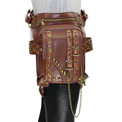 V SHOW Men's Shoulder Bag (Black) - 3
