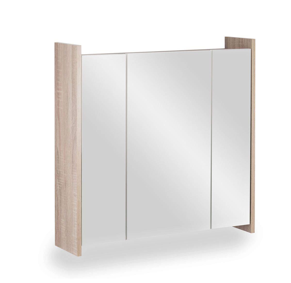 Galdem Badmöbel-Set Spiegelschrank FROSTI mit mit mit Waschbeckenunterschrank Madison Badezimmer Badschrank Unterschrank Sonoma Oak b45ded