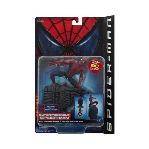 2002 Toy - Spider-Man Movie Super Poseable by Marvel