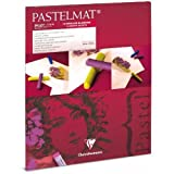 Clairefontaine Pastelmat Pad - White 360g 18x24cm 12 sheets