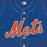 MLB New York Mets Large Napkins (36ct)