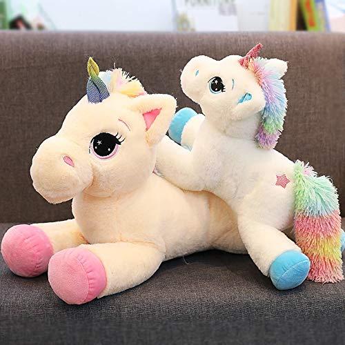 Cherubs Adorable Stuffed Plush Baby Unicorn (Multicolour, Large, 60 cm)