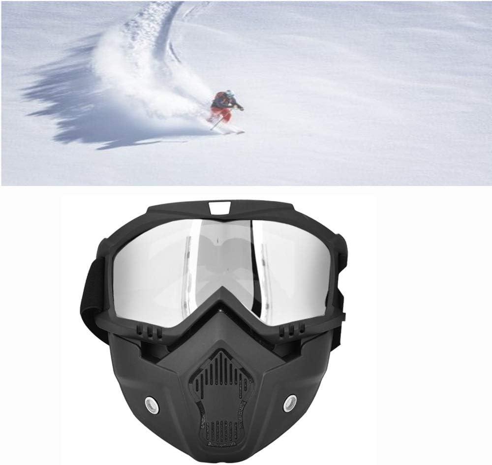 Augenschutz Boquite Skibrille Schutzbrille Bunt Winterschneesport Ski Snowboard Motorrad Vollmaske Schutzbrille