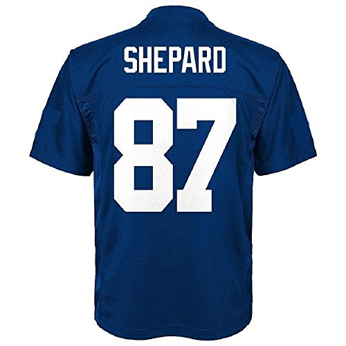 Sterling Shepard New York Giants NFL Toddler Blue Home Mid-Tier Jersey (Toddler 3T)