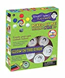 Crazy Aaron Thinking Putty Gift Bundle Mixed By Me Glow Dark Kit + Bonus Super Illusions Super Scarab Tin