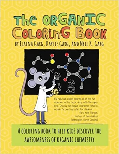 Amazon The Organic Coloring Book 9780692860540 Neil K Garg Elaina Kaylie Books
