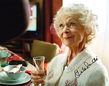 E325 Starred in Doctor Who Sheila Reid Photo Signed In Person