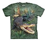 The Mountain Gator Parade Child T-Shirt, Green, Large