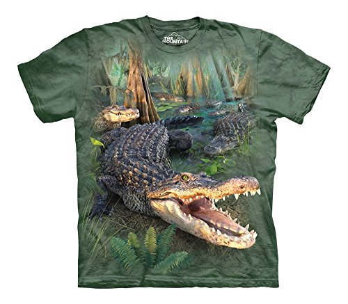 The Mountain Gator Parade Child T-Shirt, Green, (Alligator Youth T-shirt)