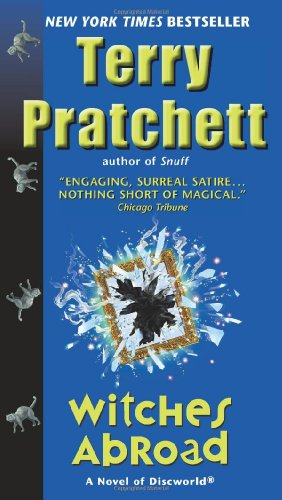 Book cover for Witches Abroad