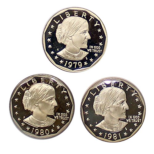 1979 Dollar Coin (1979 S Susan B Anthony Dollar 1979-1981 Proof)