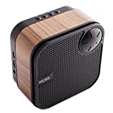 Kejee M1 Ultra-Portable Wireless Wood Bluetooth Speaker Built-in Microphone And AUX Jack Works For Cell Phones Pad And PC