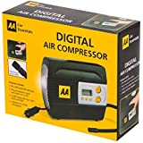 Genuine AA 12 Volt Air / Tyre Compressor / Inflator With Digital Setting & Built In LED Work Light