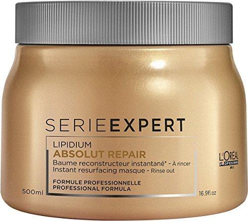 500 Series Gold (L'OREAL SERIE EXPERT LIPIDIUM ABSOLUT REPAIR INSTANT RESURFACING MASQUE (new packaging), 16.9 Oz.)