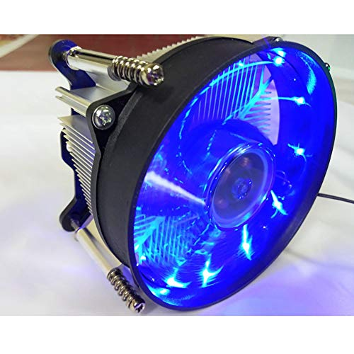 CawBing CPU Radiator Fan Desktop Computer Cooling Fan Ultra-Quiet Full-Platform Lighting Mixed Color