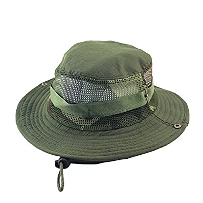 Respctful ? Unisex Fashion Camouflage Travel Bucket Hat Summer Beach Fisherman Cap Foldable Sun Protection Hat Outdoor Cap