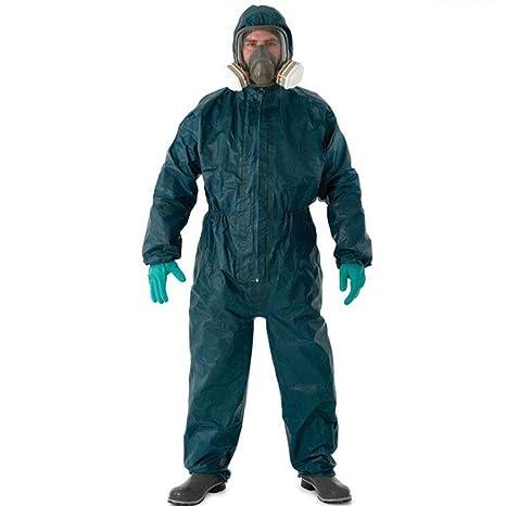 CYHX Bata Ropa de protección química Ropa Protectora contra ...