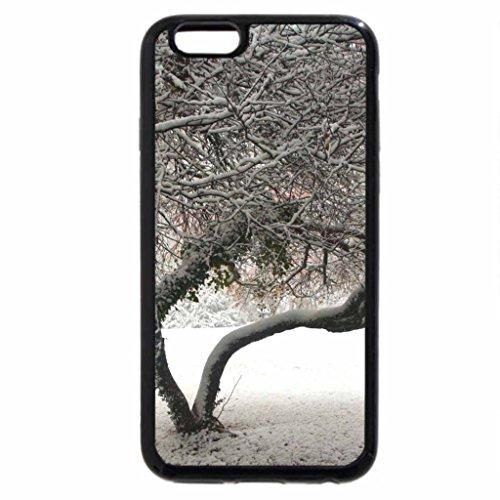 iPhone 6S Case, iPhone 6 Case (Black & White) - Beautiful winterday in autumn