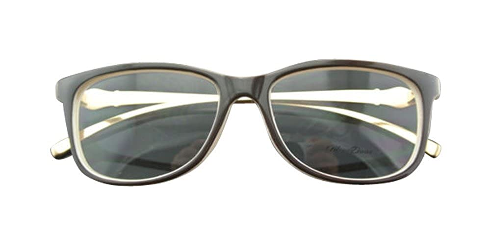 Cream Inside Frame Gold Temple Women Eyeglass Frames Metal Leopard Design Glasses Lady Eyeglass 6 colors Optic