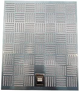 Franke 133.0251.410 X 253x300 (S/LING) - Filtro para campanas extractoras, piezas de repuesto, filtros de grasa y filtros metálicos: Amazon.es: Hogar