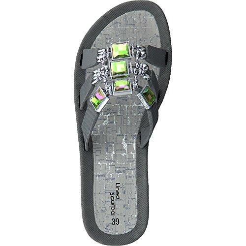 Linea Scarpa Samoa Beach Shoes Mules and Casual Shoes Ladies Grey zyfg69Ik