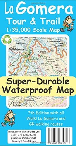 FREE La Gomera Tour & Trail Super-Durable Map E.P.U.B