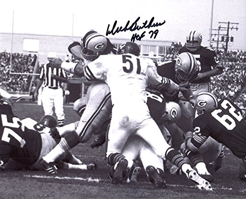 Dick Butkus Signed Autographed Chicago Bears Black & White 8x10 Photo