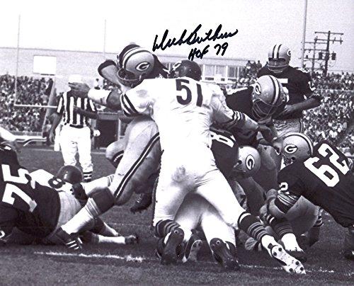 Dick Butkus Signed Autographed Chicago Bears Black & White 8x10 Photo