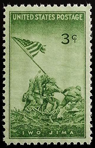 (1945 Iwo Jima Commemorative 3 Cent Postage Stamp Scott 929 By USPS)