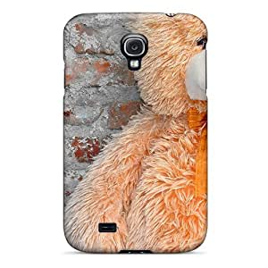 For Galaxy S4 Tpu Phone Case Cover(fluffy Teddy)